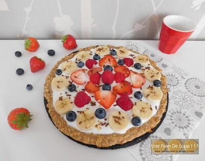 Pizza sucrée pour le petit déjeuner 0 complexe