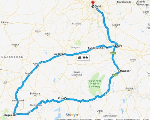 Gwalior - Nos premiers pas en Inde