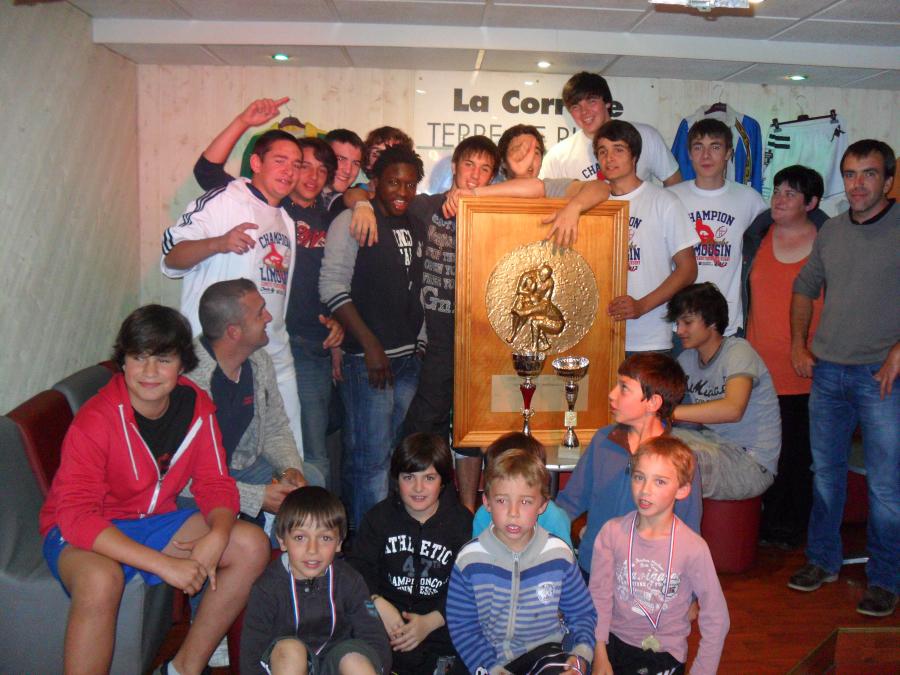 Mardi 8 mai 2012:Finale championnat du Limousin - Cadets