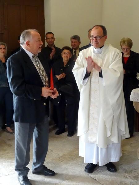 Une bien belle cérémonie a eu lieu dans l'église de Courban....