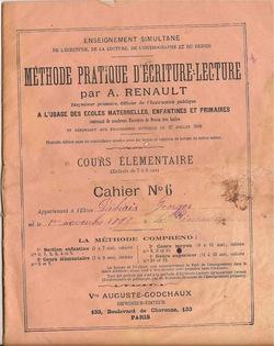 La Méthode Pratique d'Ecriture-Lecture en 1900