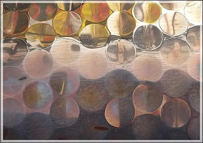 Les reflets du cuivre martelé