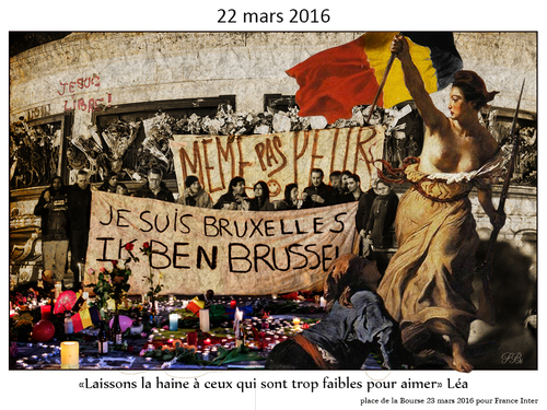 Hommage Brussels mars 2016