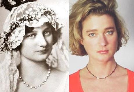 Reine Astrid et Delphine Boel