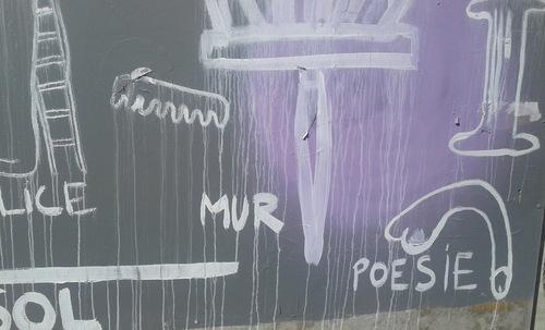 Le passage Marceau et ses graffitis ...