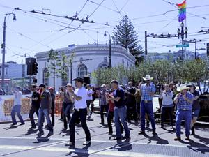 dance ballet western street western