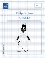 Rallye-écriture couverture