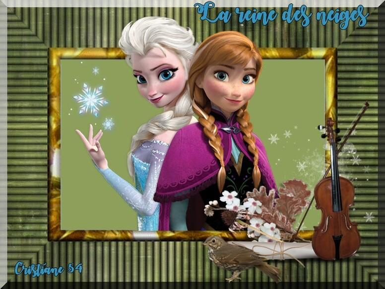 Défi Nathie à deux c'est mieux !!!!!!!!!!!! ET LA REINE DES NEIGE  princesse chanel
