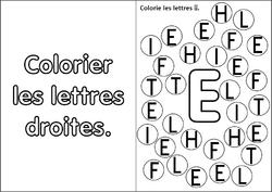 Fiches modèles allumettes – les lettres