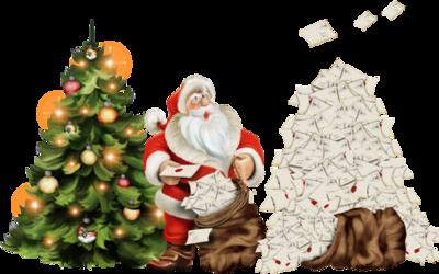 Tubes pères Noël en png