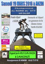 Championnat départemental Nord VTT à Anzin