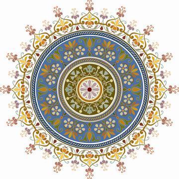 L'ART ISLAMIQUE : Les mandalas
