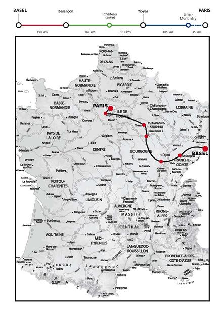 Le raid Bâle-Paris est passé par le Châtillonnais !