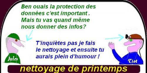 Attention aux images que vous utilisez, pensez à la protection des données.