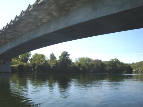 Gabarre, le Pont de l'Europe 1