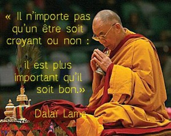Citations du DalaÏ Lama