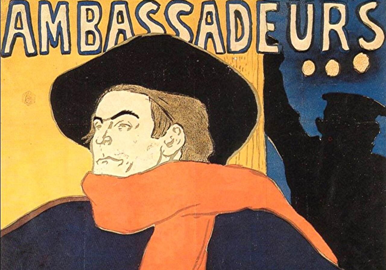 Toulouse-Lautrec 5 / admirateur d'Aristide Bruant