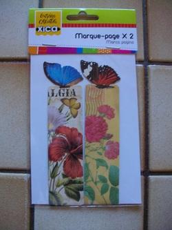 "Marque-pages ""Papillon"" (2014)"