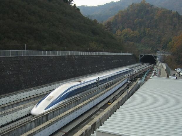 Le JR Maglev : un train à 581 km/h