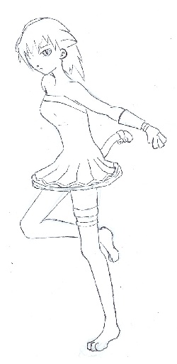 """Neko Girl"" par étapes!"