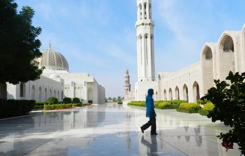 Oman La Grande Mosquée de Muscat