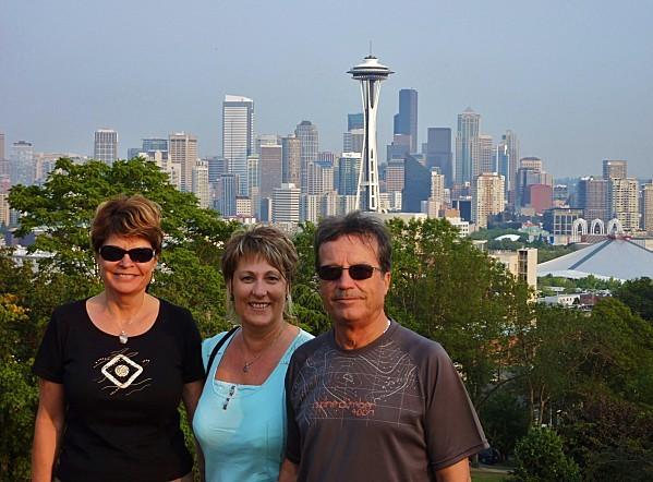 Jour 29 Seattle vue de Kerry Park Nous