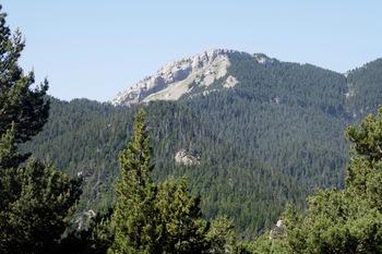 Zoom sur le Roca de la Moixa