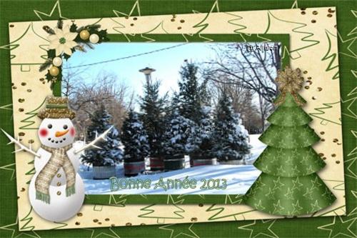 Kado offert par mes amis Noël et Bonne Année