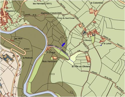 Le Bois-Harouard et la Ville es Olliviers