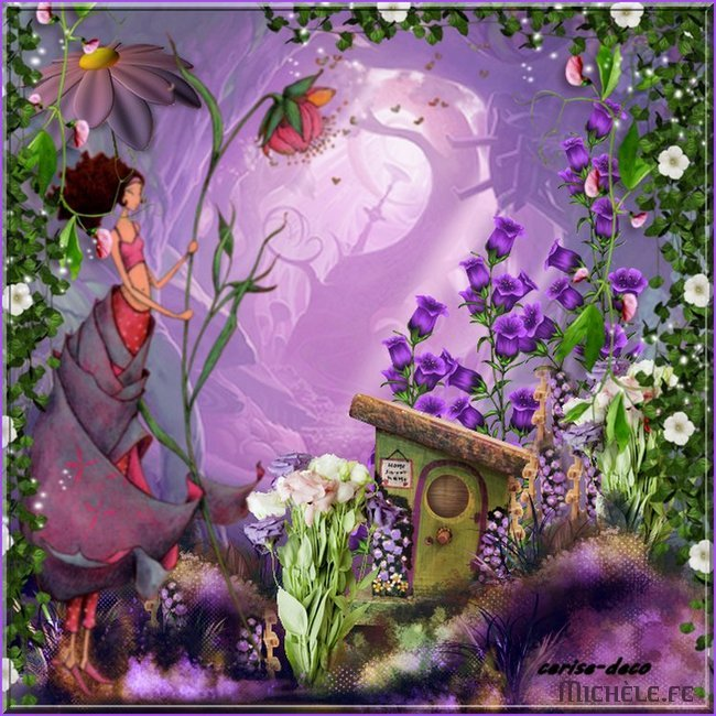 participation 1 pour fleurettes de printemps
