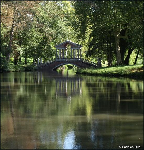 Promenade dans le parc du Château de Groussay
