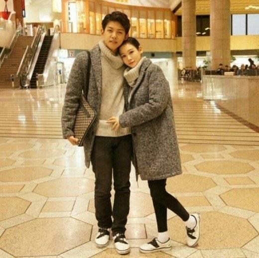 Shin Dongho et sa femme après leurs mariage ! ♥