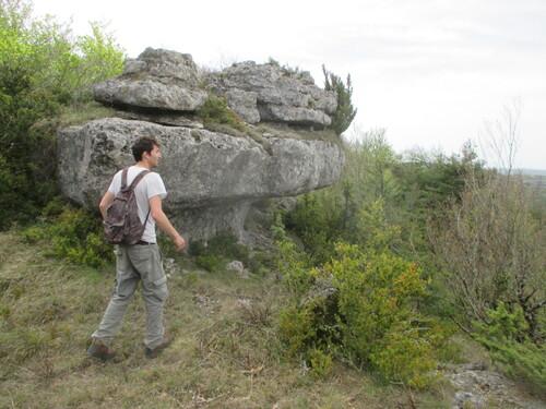 un temps de surprise entre l'Aveyron et l'Hérault