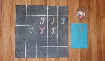 Lettres majuscules