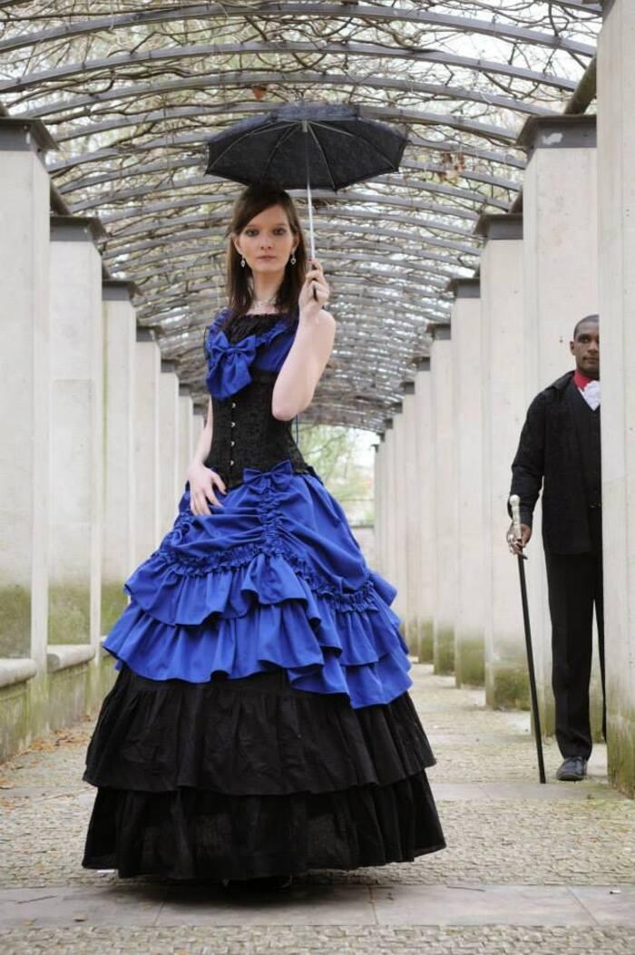 Orphee et Mélou, modèles goths