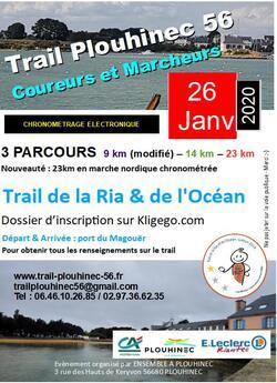 Trail et Marche Nordique de la ria et de l'océan de Plouhinec