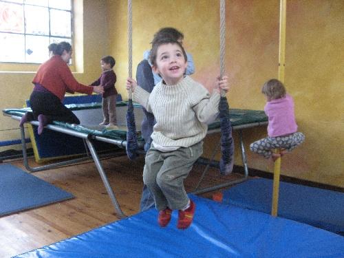 A l'école de cirque