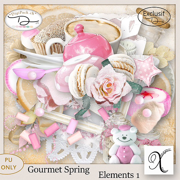 Gourmet spring Elements 1