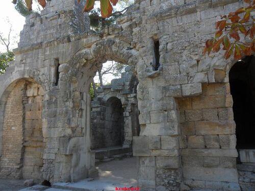 Echappée belle Nîmoise. Les jardins de la Fontaine et le temple de Diane.