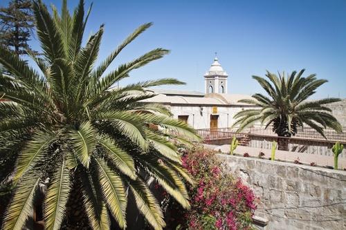 Arequipa : un petit tour dans ses cours