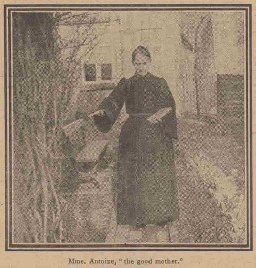 Belgian Miner Founds a New Religion (Daily Mirror, Wednesday 14 December 1910)-Mme. Antoine
