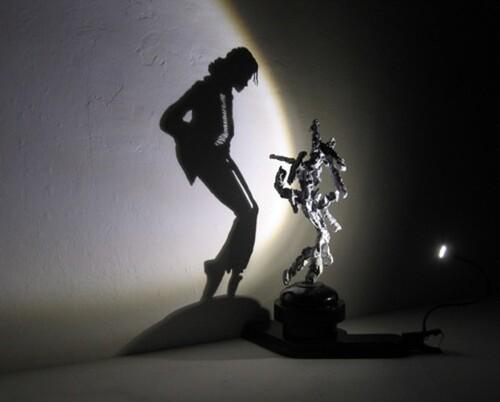 Tim Noble et Sue Webster sculpteur d'ombres