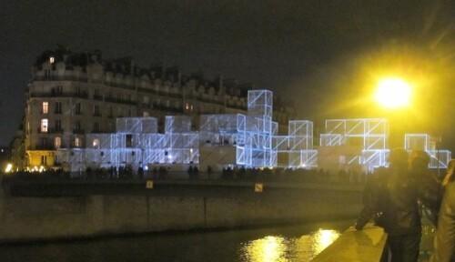 Nuit Blanche 10 3D bridge 1