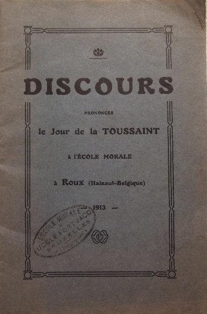 Discours du Jour de la Toussaint (Père Dor)(1913)