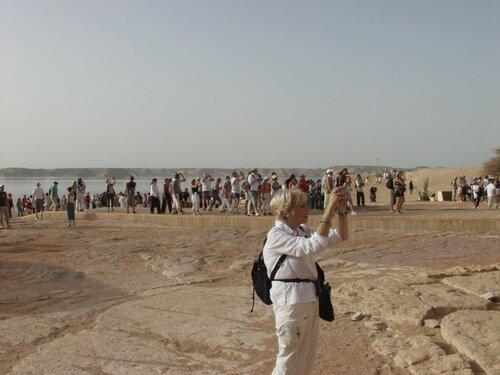 Jacqueline en Egypte croisière sur le nil