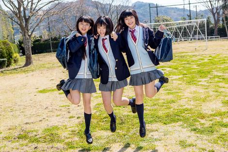 WEB Gravure : ( [Minisuka.tv] - | 2017.04.27 NewComer 2017 Special Gallery No.6 | Mika Hisakawa/久川美佳, Anju Kozuki/香月杏珠 & Ai Takanashi/高梨あい )