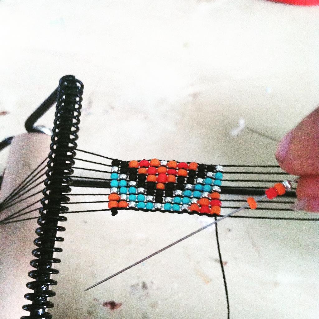 tuto bracelet hipanema ! - la fabrique de couleurs