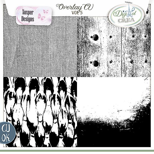 Overlay Cu vol 5 de Xuxper designs