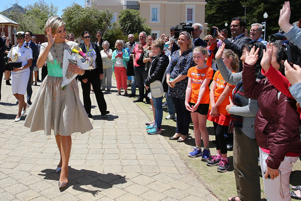 King Willem-Alexander and Queen Maxima of The Netherlands Visit Australia