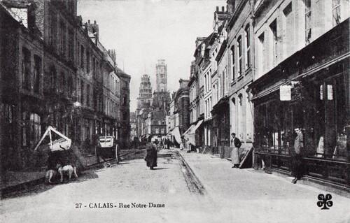Le vieux Calais autour de la place d'Armes, dernière partie